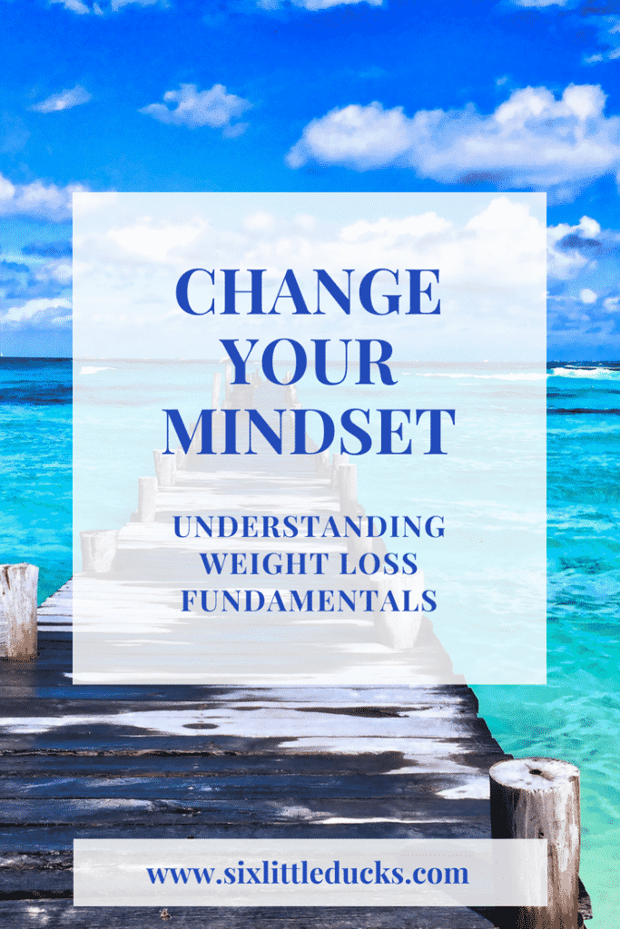 change your mindset by understanding weight loss fundamentals