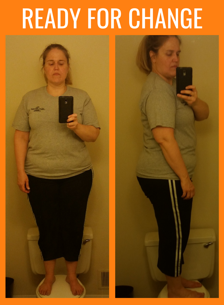 Seventy pounds overweight and ready for a change