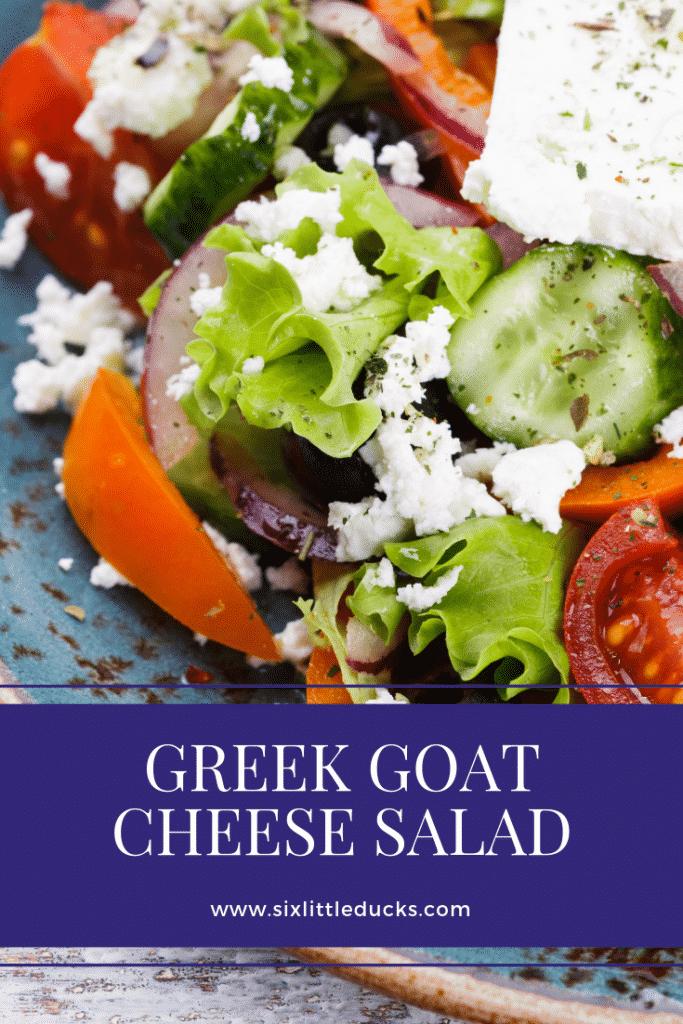 Greek Goat Cheese Salad