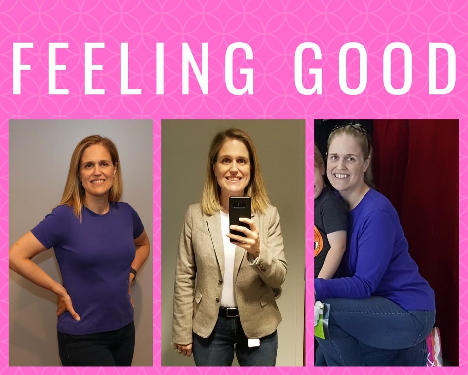 Feeling good after losing 70 pounds (so far)
