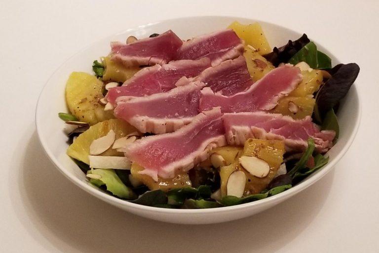 Hawaiian Ahi Tuna Salad