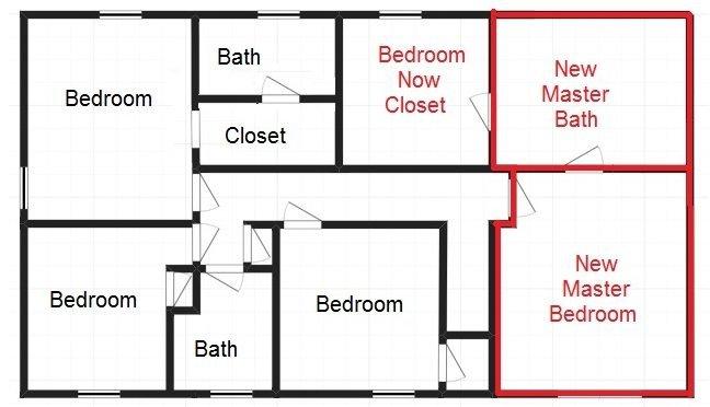 New second floor layout