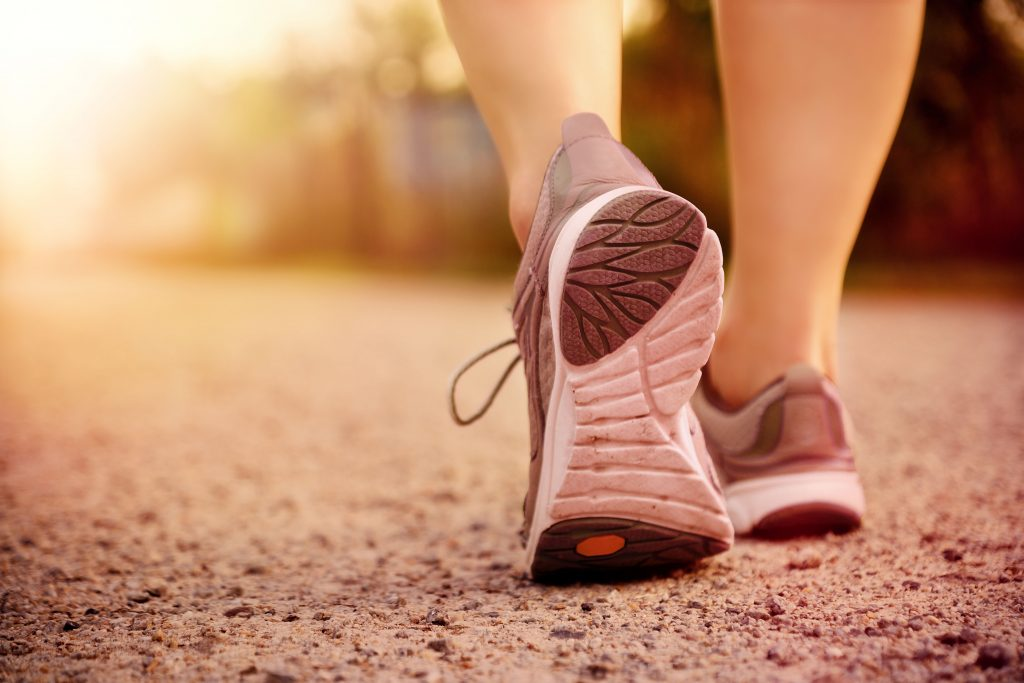 Fight emotional eating by going for a walk