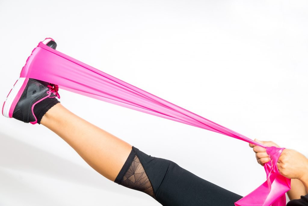 hot pink resistance band