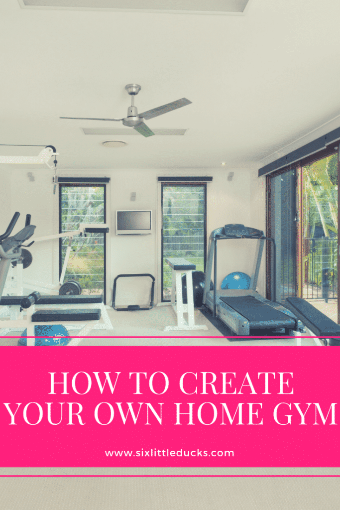 How to create your own home gym