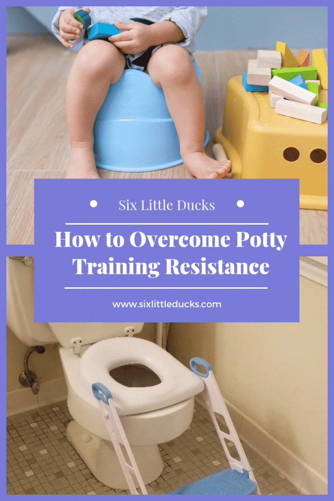 How to overcome potty training resistance