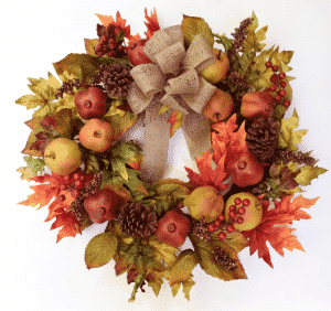 "Wayfair 24"" Faux Fruit Wreath"