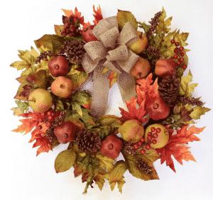 "Wayfair 24"" Faux Fruit Wreath"
