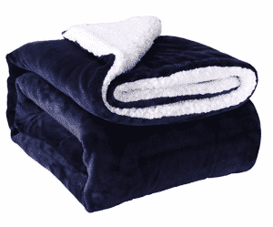 HoroM Sherpa Throw Blanket