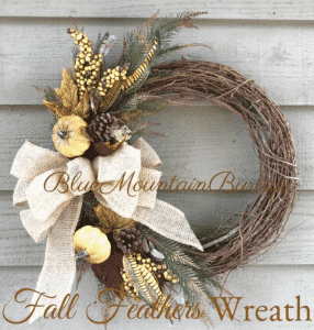 Etsy Fall Wreath