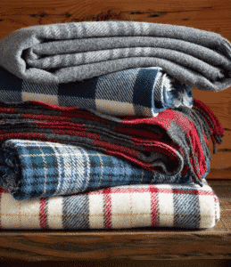 L.L.Bean Washable Wool Throw