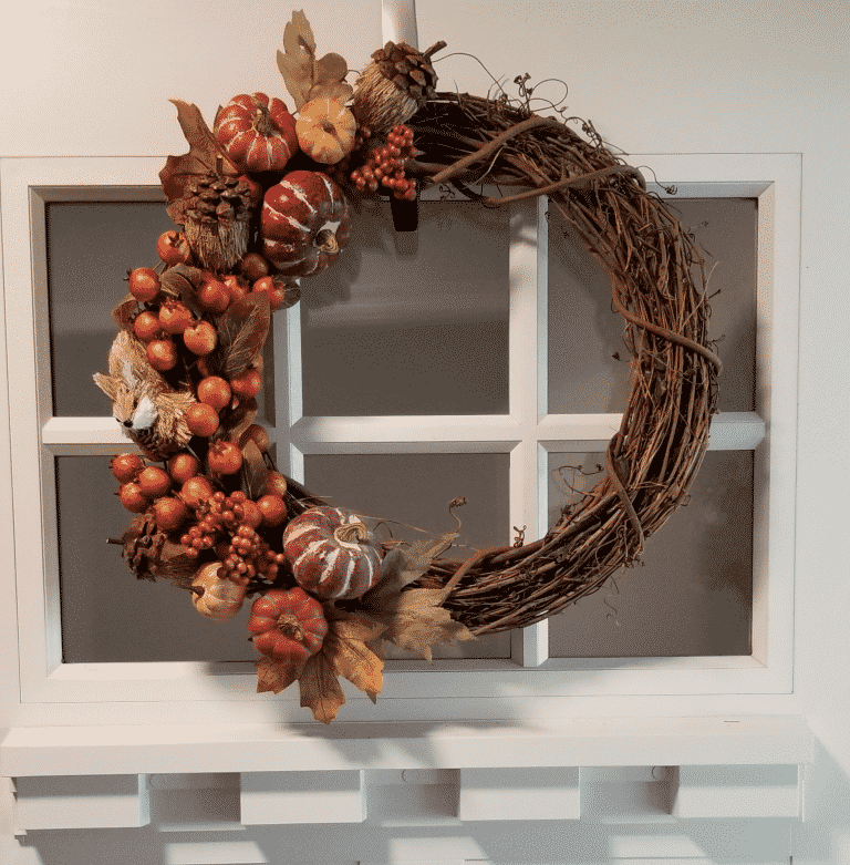 15 Favorite Fall Wreaths Plus 2 DIY