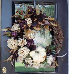 Etsy Fall Wreath
