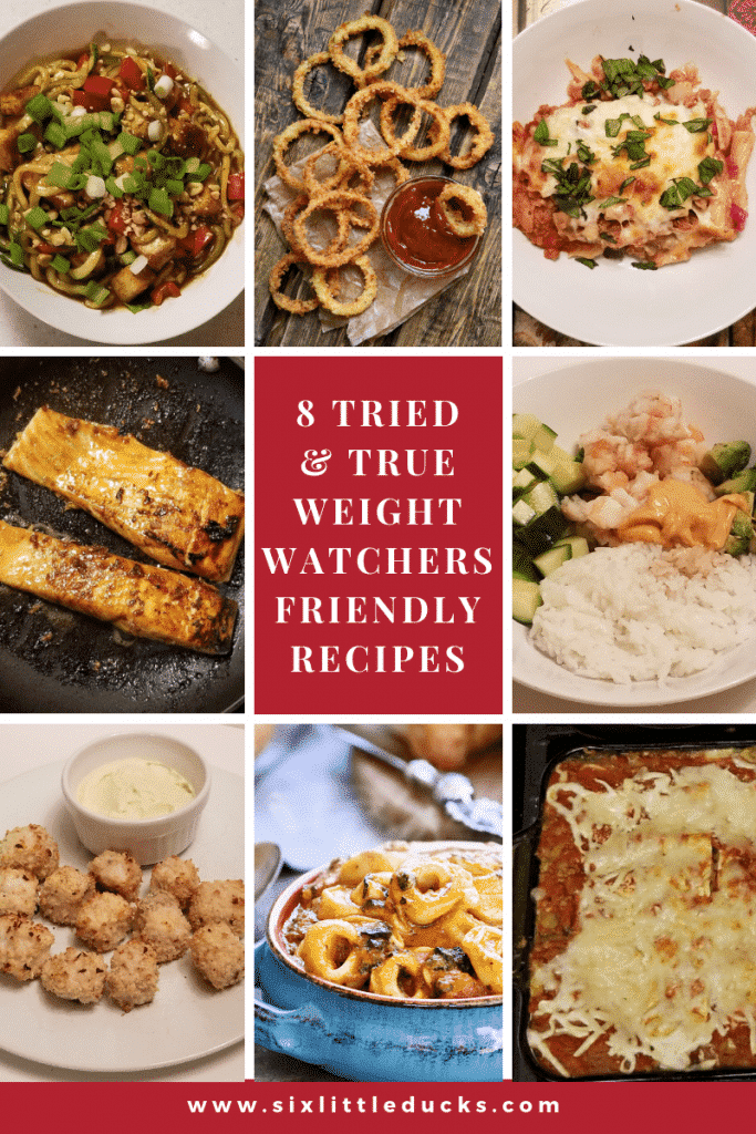 8 Tried and True Weight Watchers Friendly Recipes