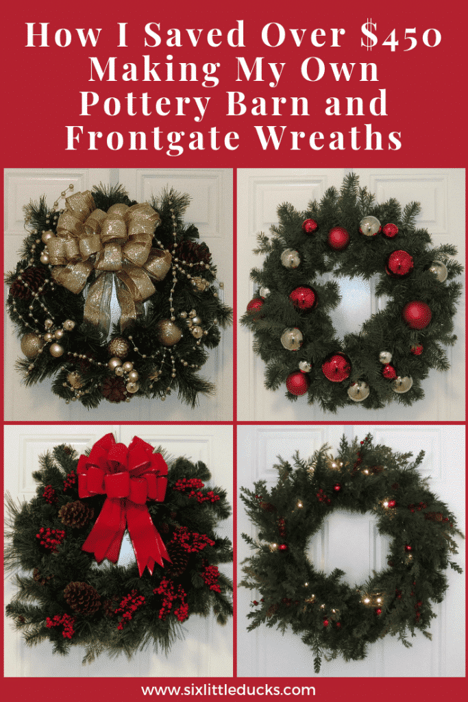 How I saved over $450 making my own Pottery Barn and Frontgate Wreaths
