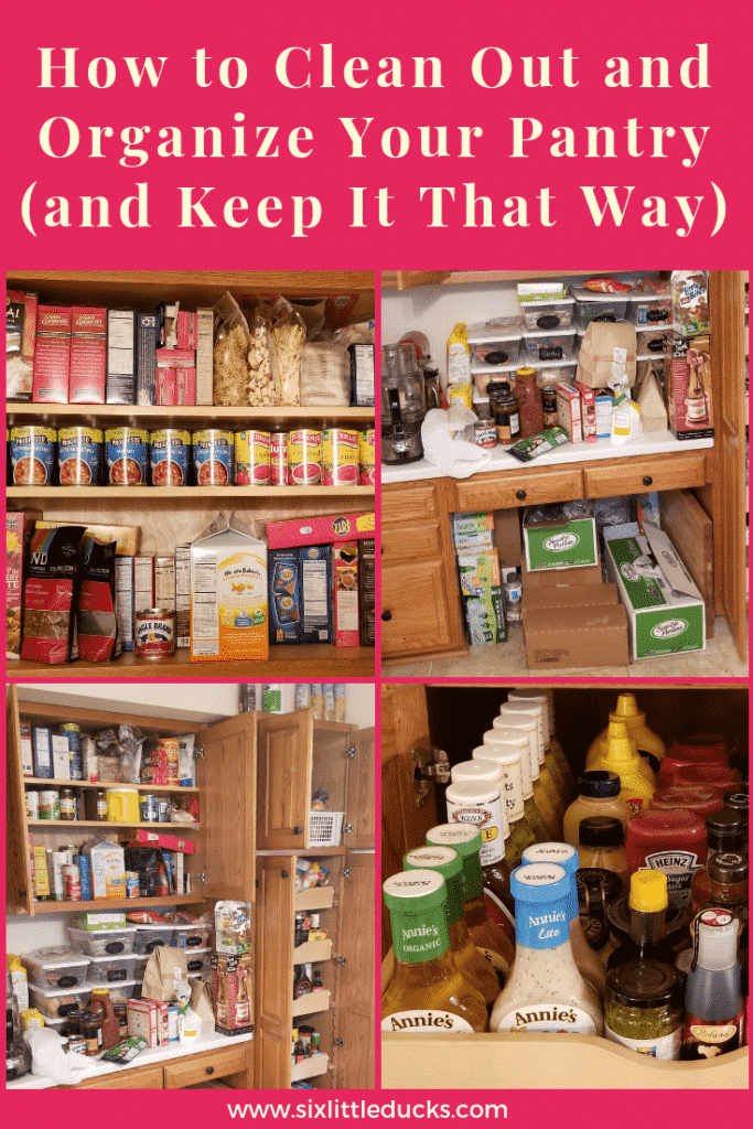 How to Clean Out and Organize Your Pantry (and keep it that way)