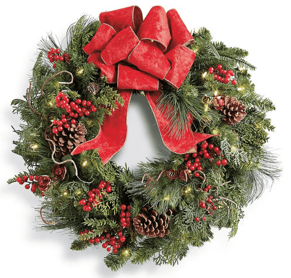 Frontgate Christmas Cheer Collection Wreath