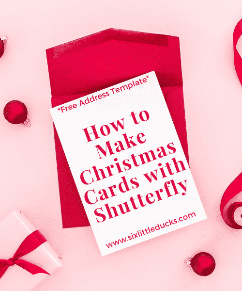 How to Make Christmas Cards with Shutterfly