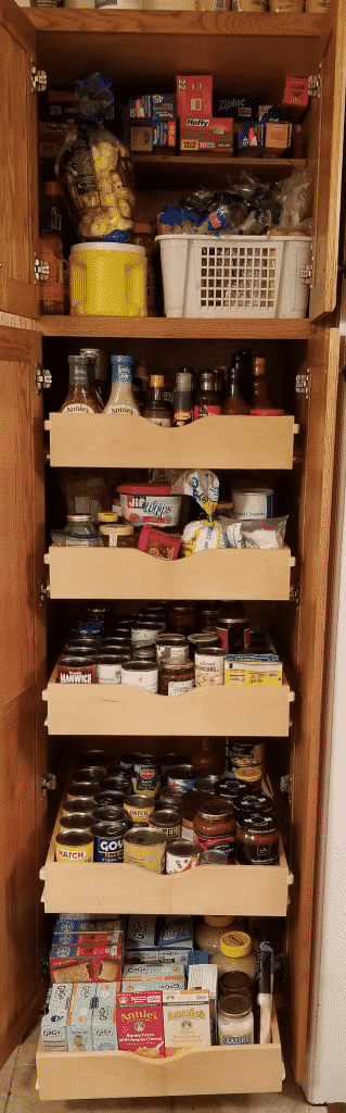 """Pantry """"After"""" picture"""