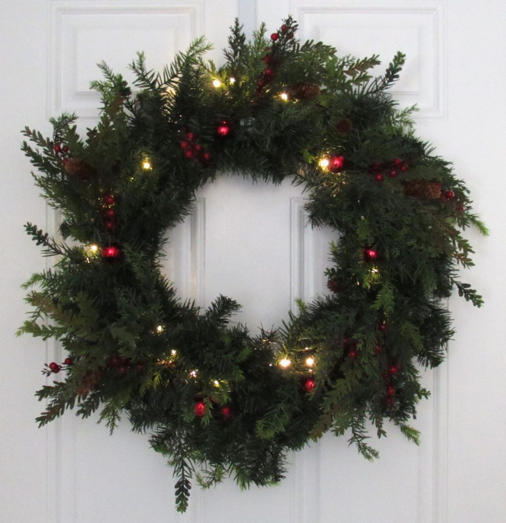 Pottery Barn Replica Wreath
