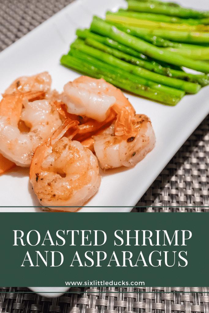 roasted shrimp with asparagus
