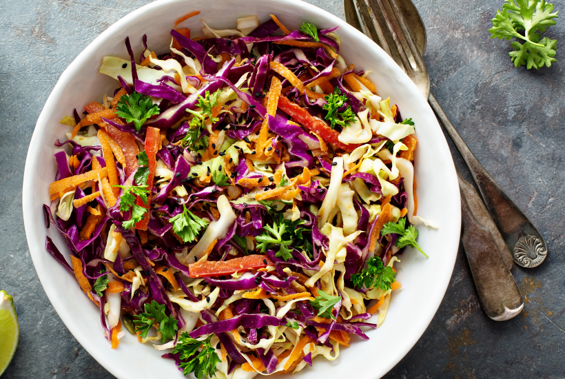 Asian Sesame Crunch Salad