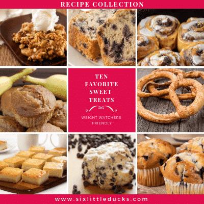Ten Favorite Sweet Treats Recipes