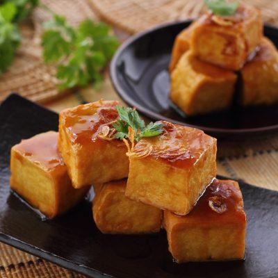 Buffalo Tofu Bites