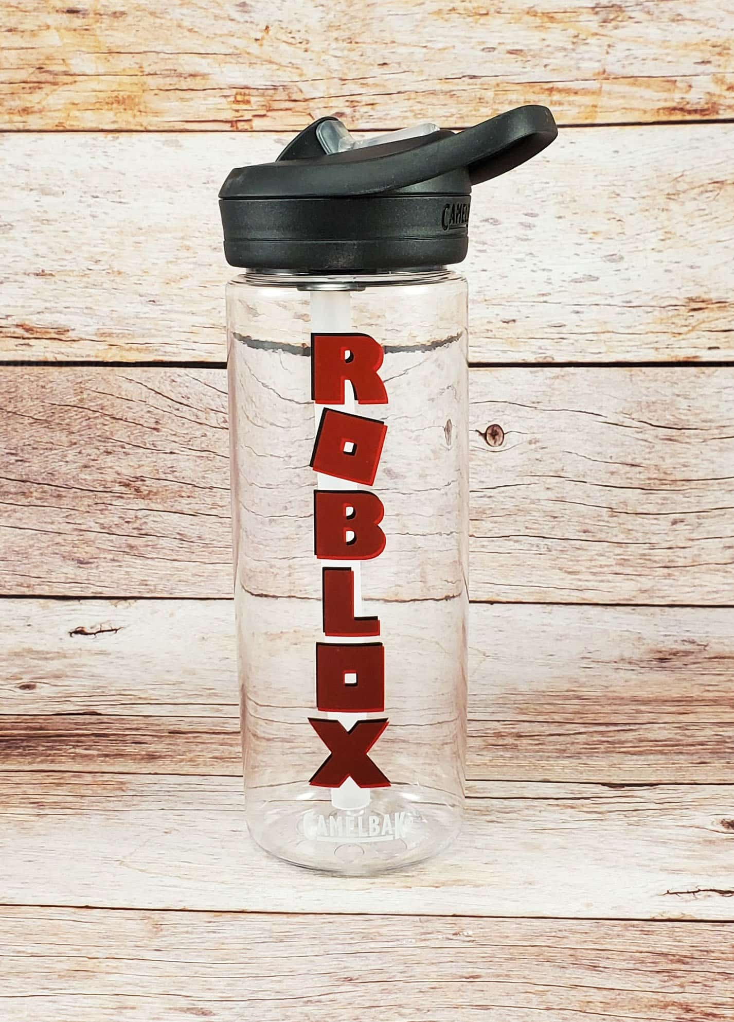 Finished Roblox water bottle