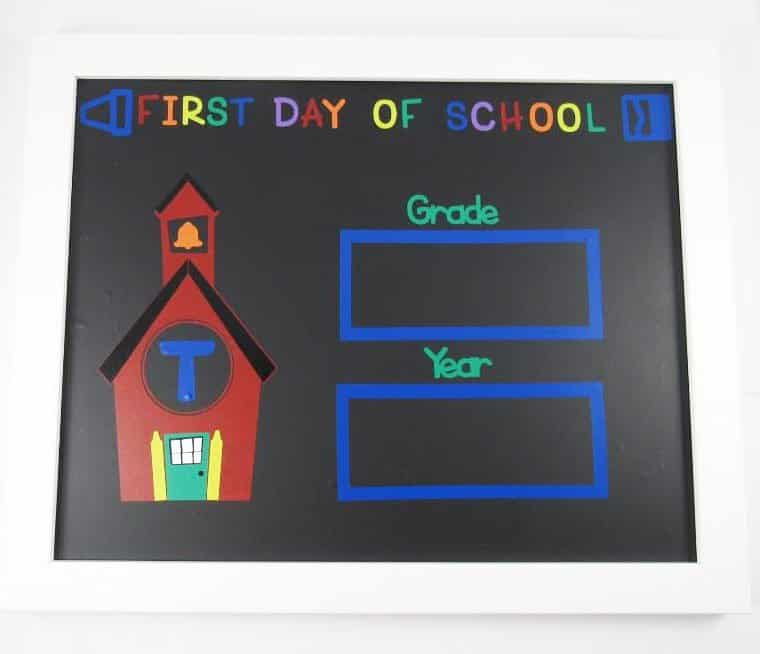 First Day of School Sign - DIY
