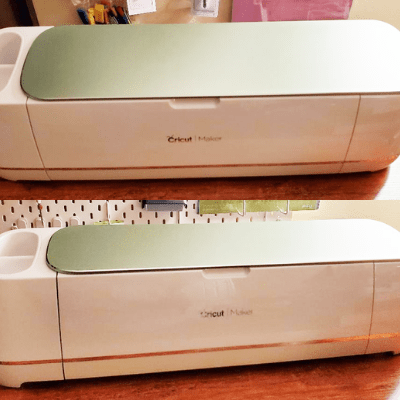 two images of the Cricut Maker