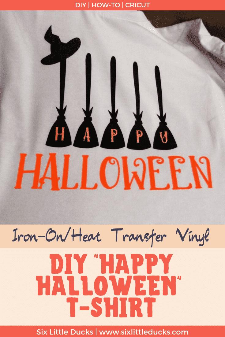 DIY Happy Halloween T-Shirt Image