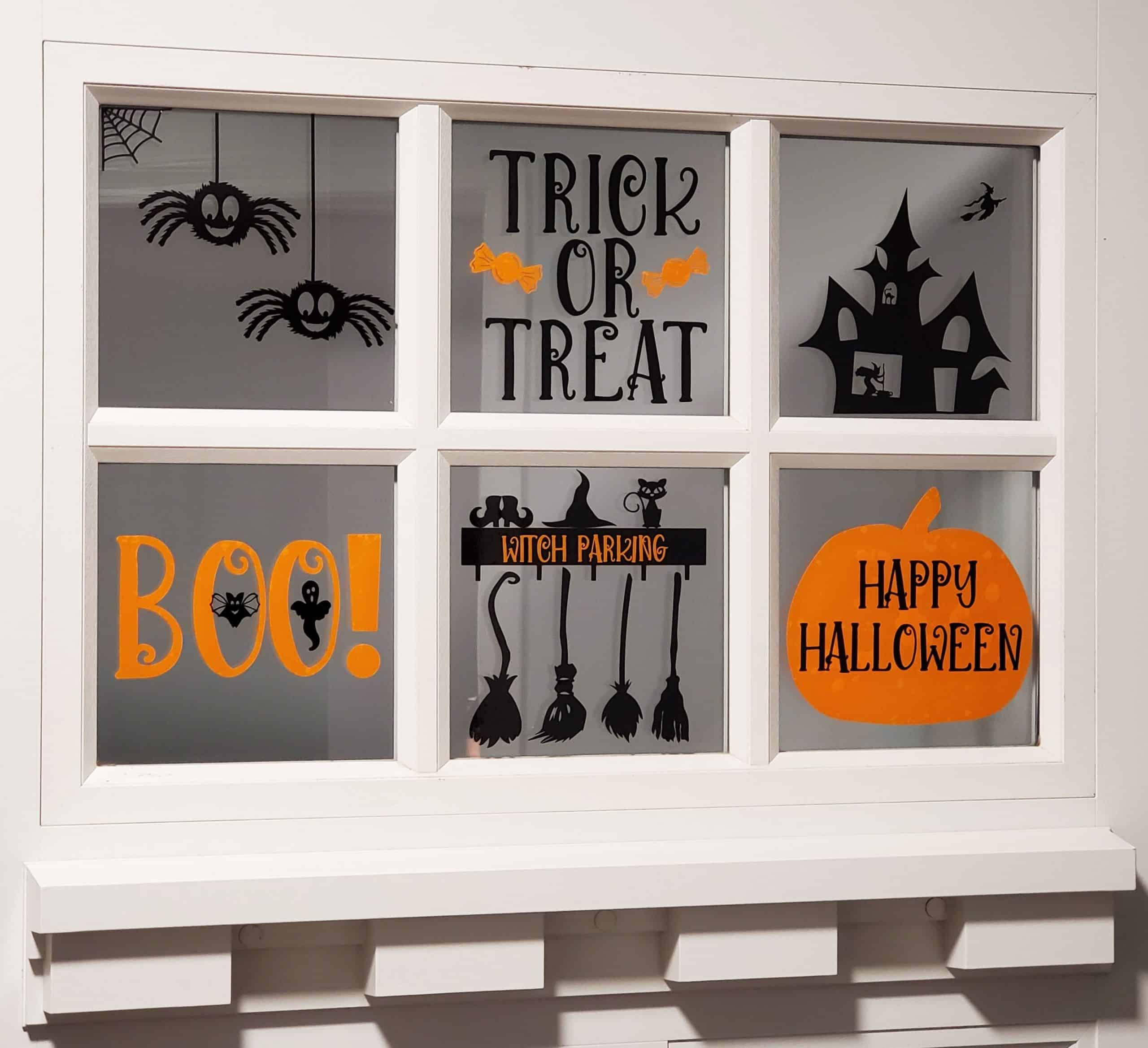 Halloween Window Cling Decorations