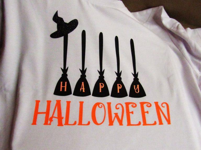 "DIY ""Happy Halloween"" T-Shirt"