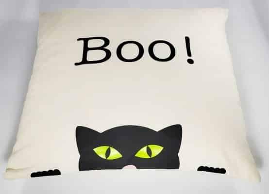 Final Boo Cat Pillow