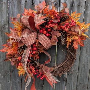 Eucalyptus Fall Wreath
