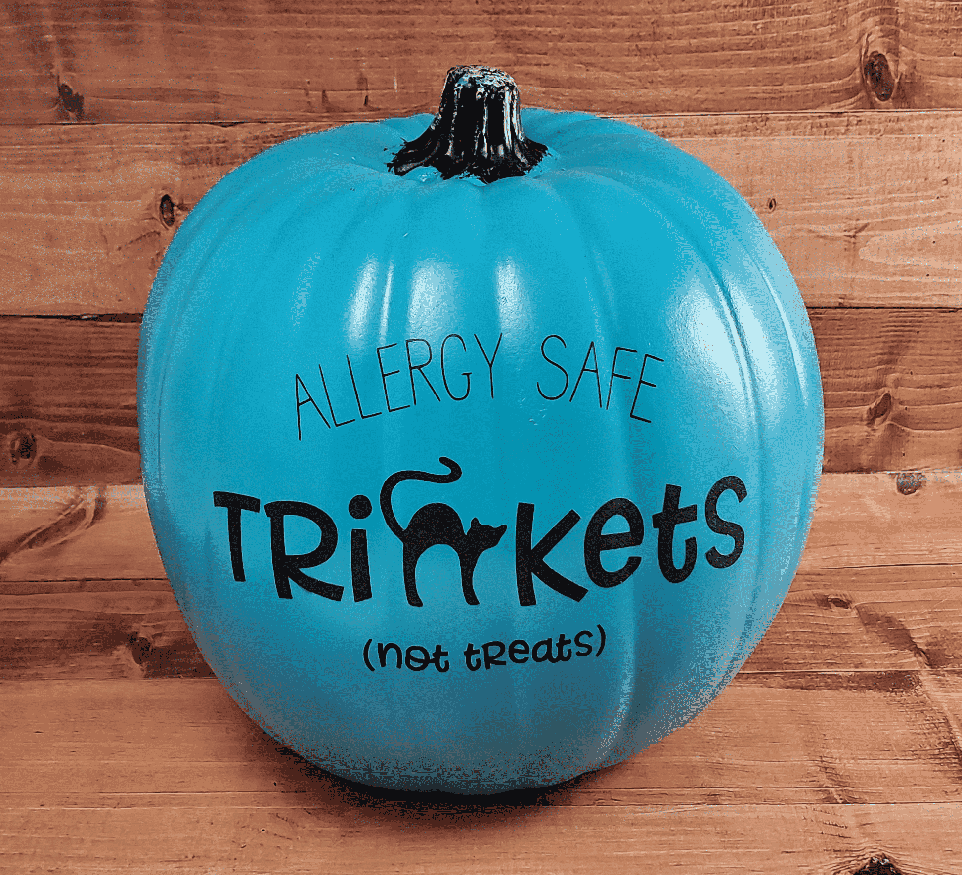 Trinkets (Not Treats) Teal Pumpkin