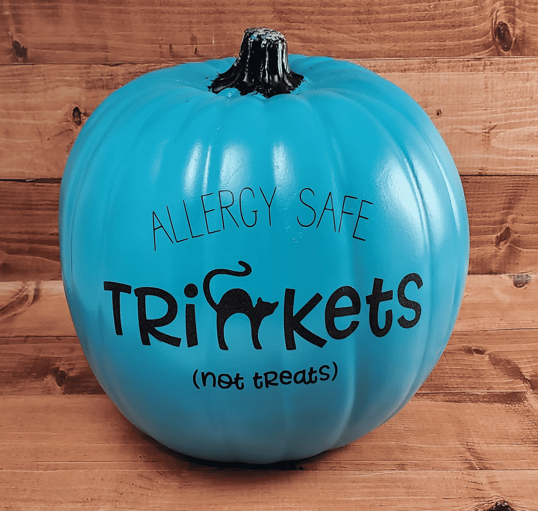 Final Trinkets (Not Treats) Teal Pumpkin