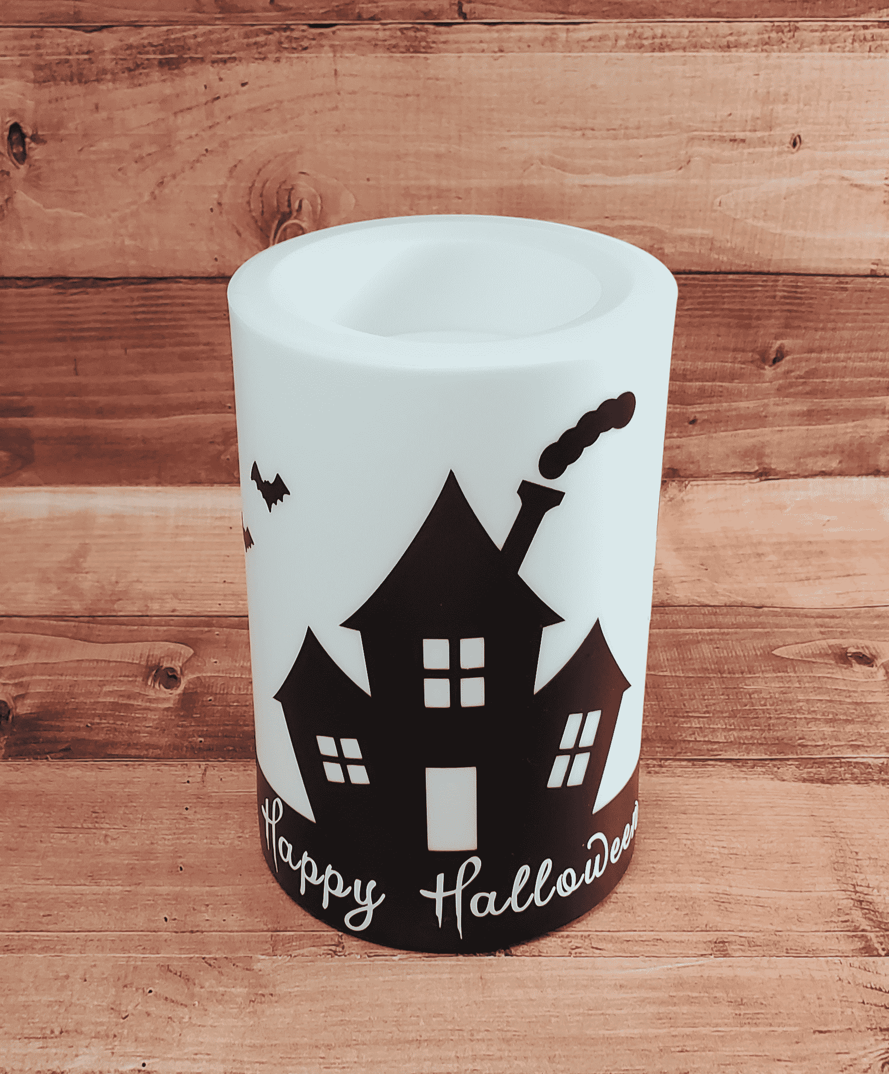 Final Happy Halloween Candle