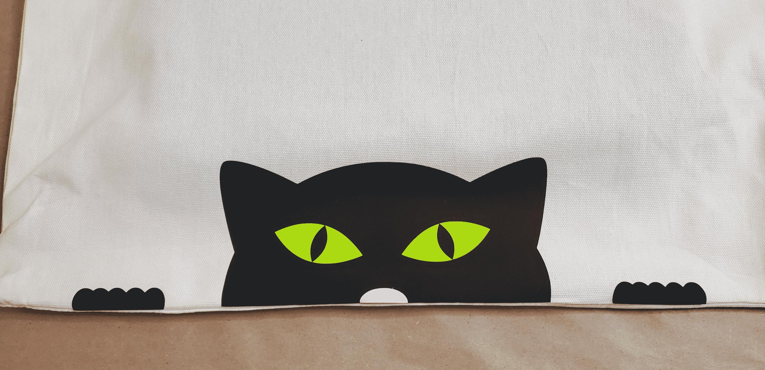 Iron on cat paws