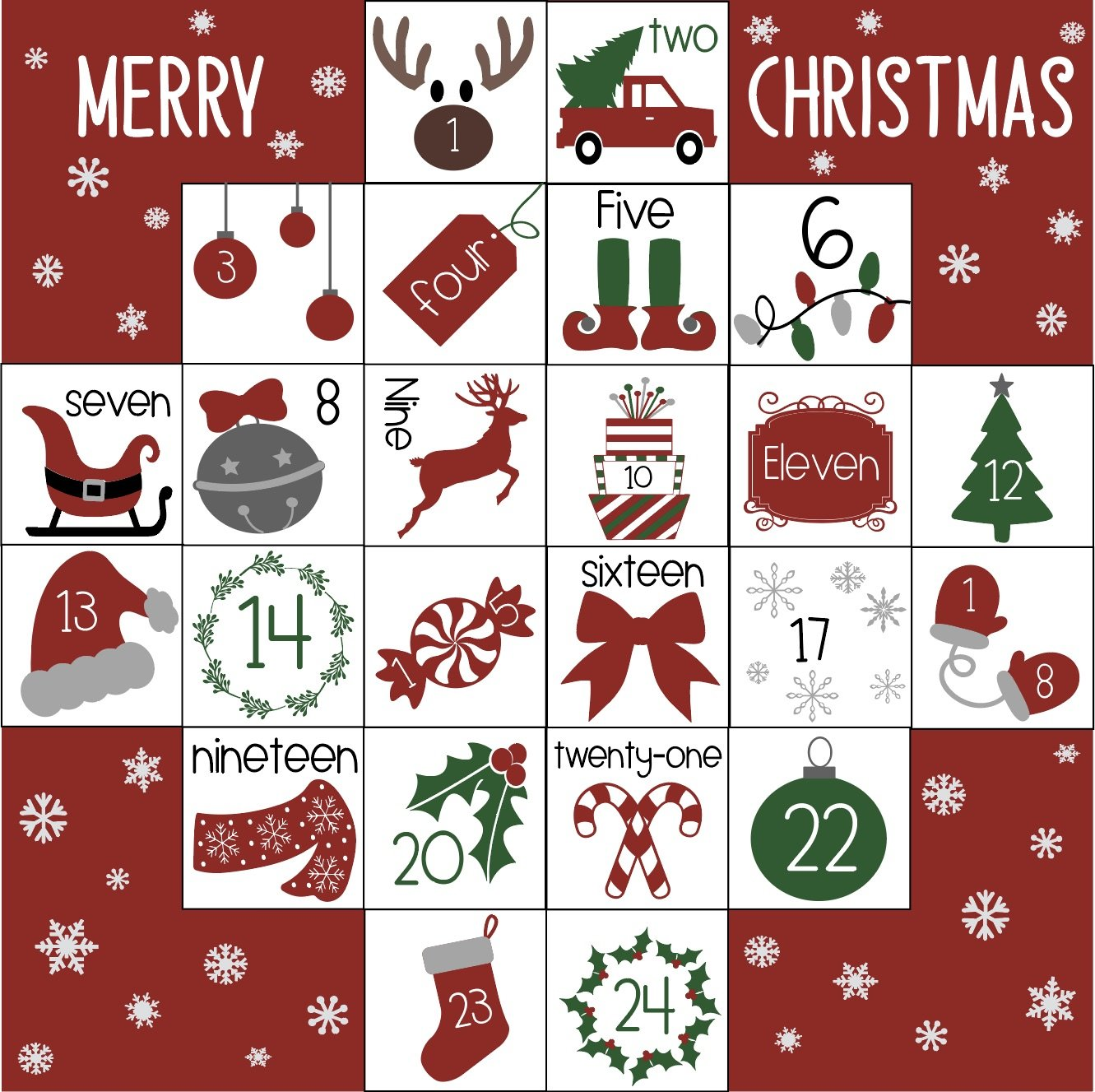 Advent Calendar Screenshot - Guide