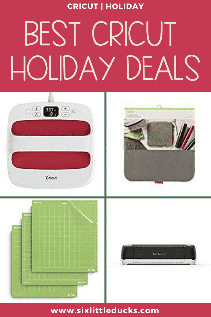 Best Cricut Holiday Deals on Machines and Supplies!