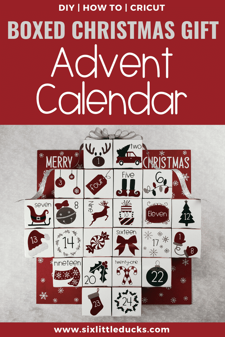 Boxed Christmas Gift Advent Calendar