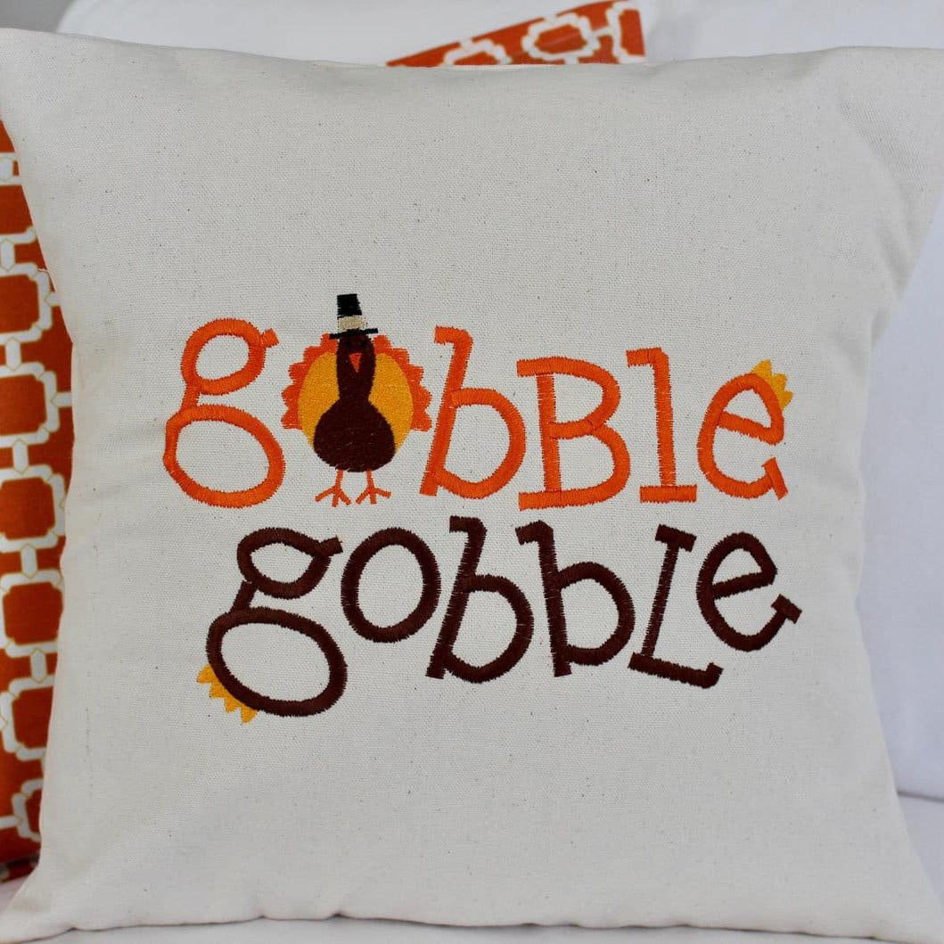 Enbroidered Gobble Gobble