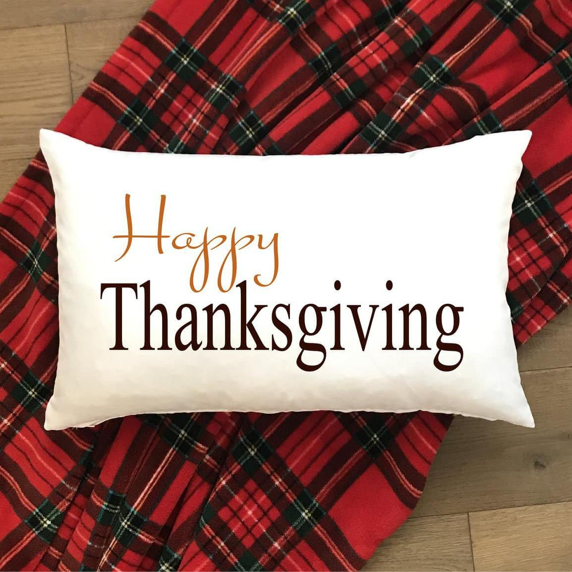 Happy Thanksgiving Tartan