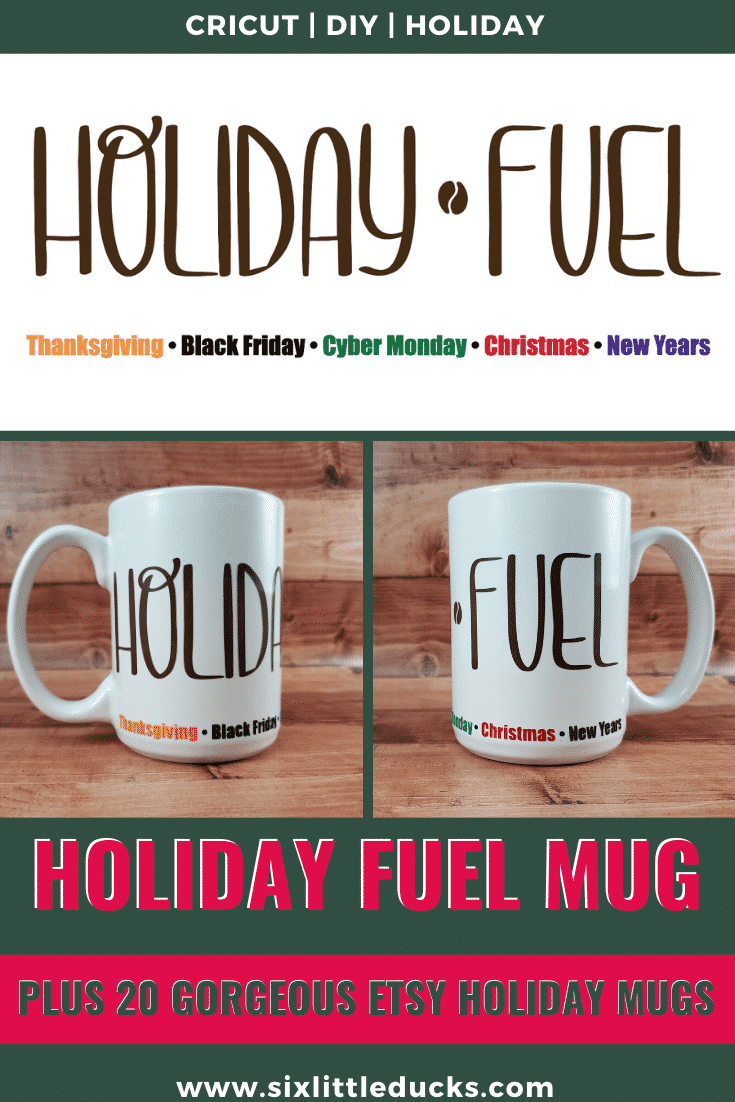 Holiday Fuel Mug - A Mug for the Entire Season