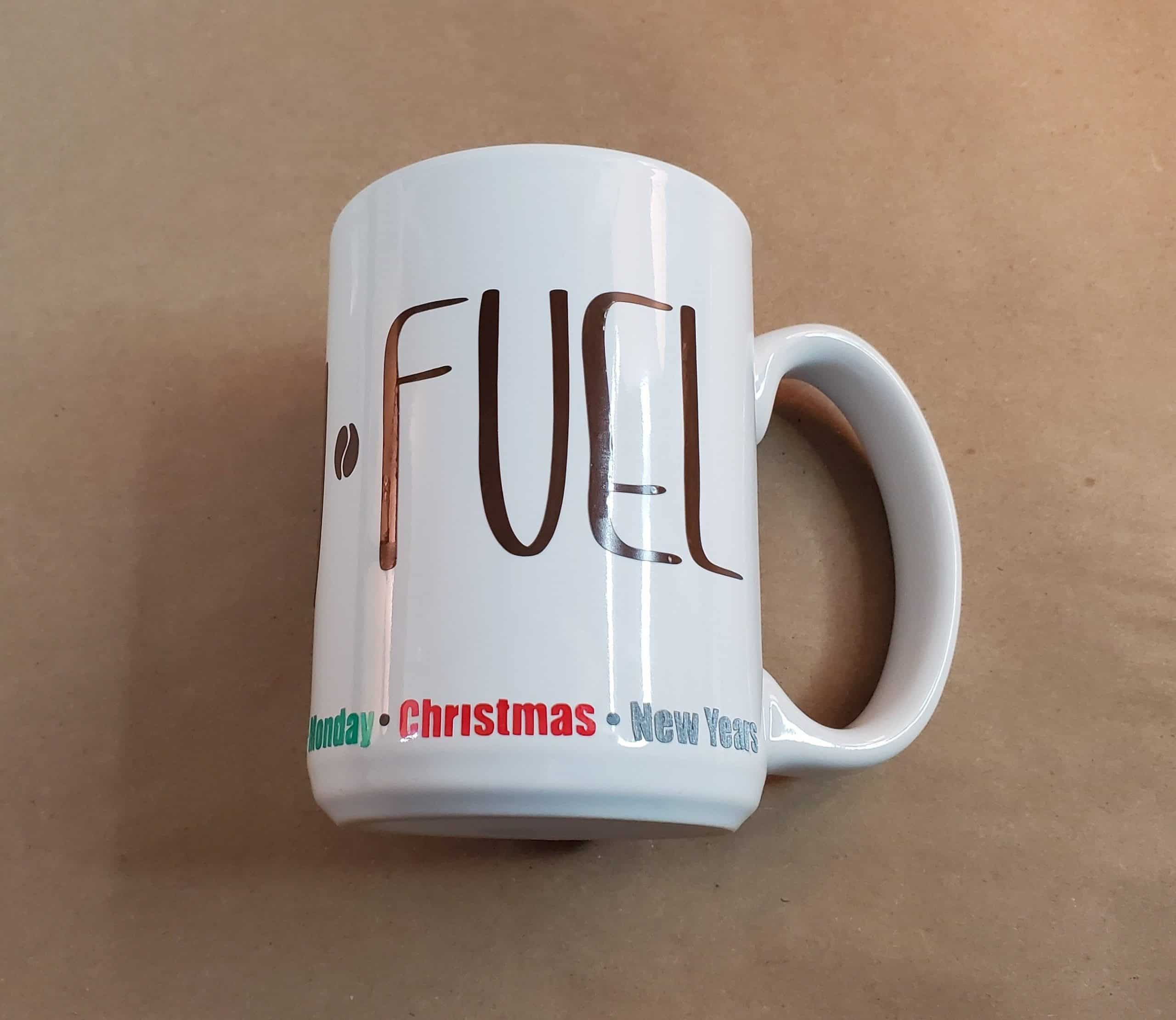 Holiday Fuel Mug DIY