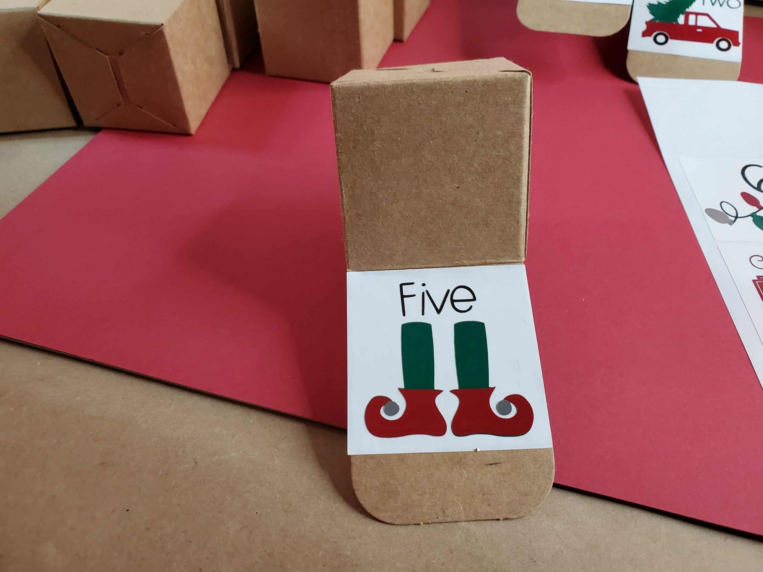 Square 5 box
