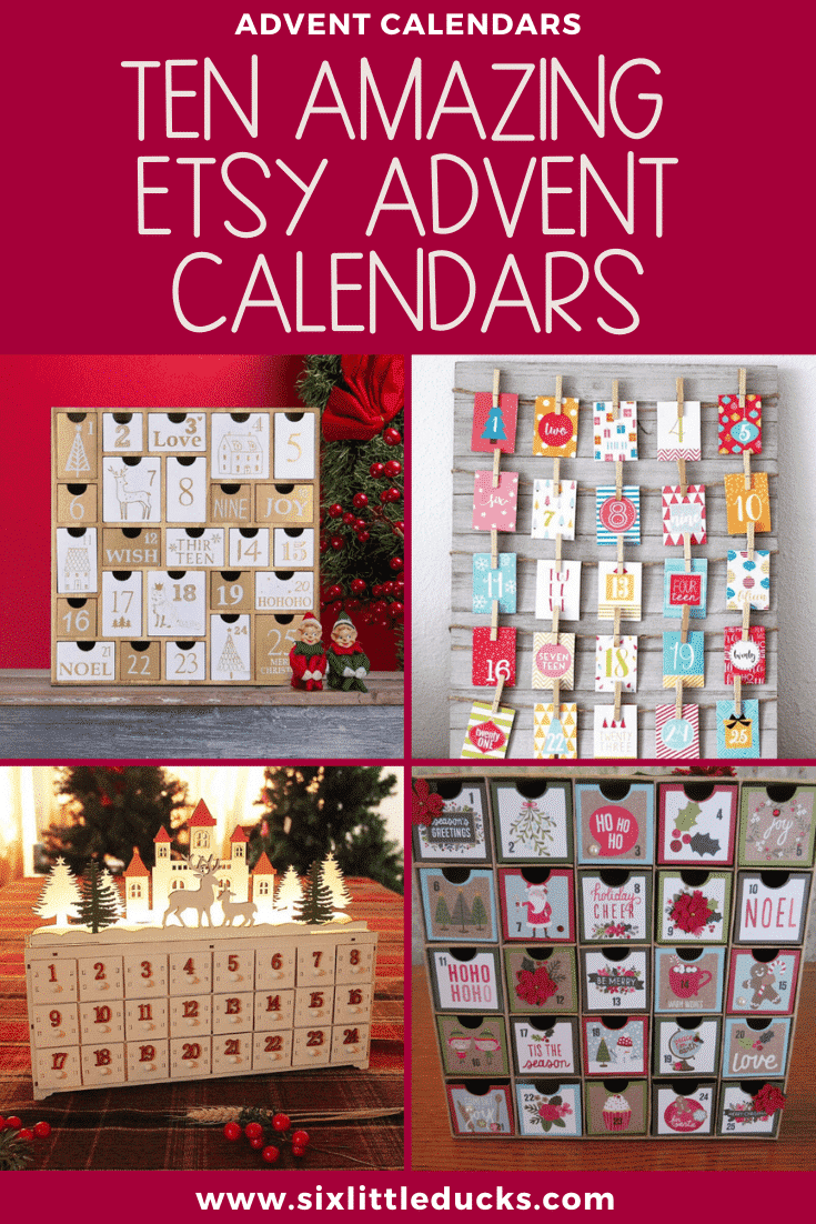 Ten Amazing Etsy Advent Calendars