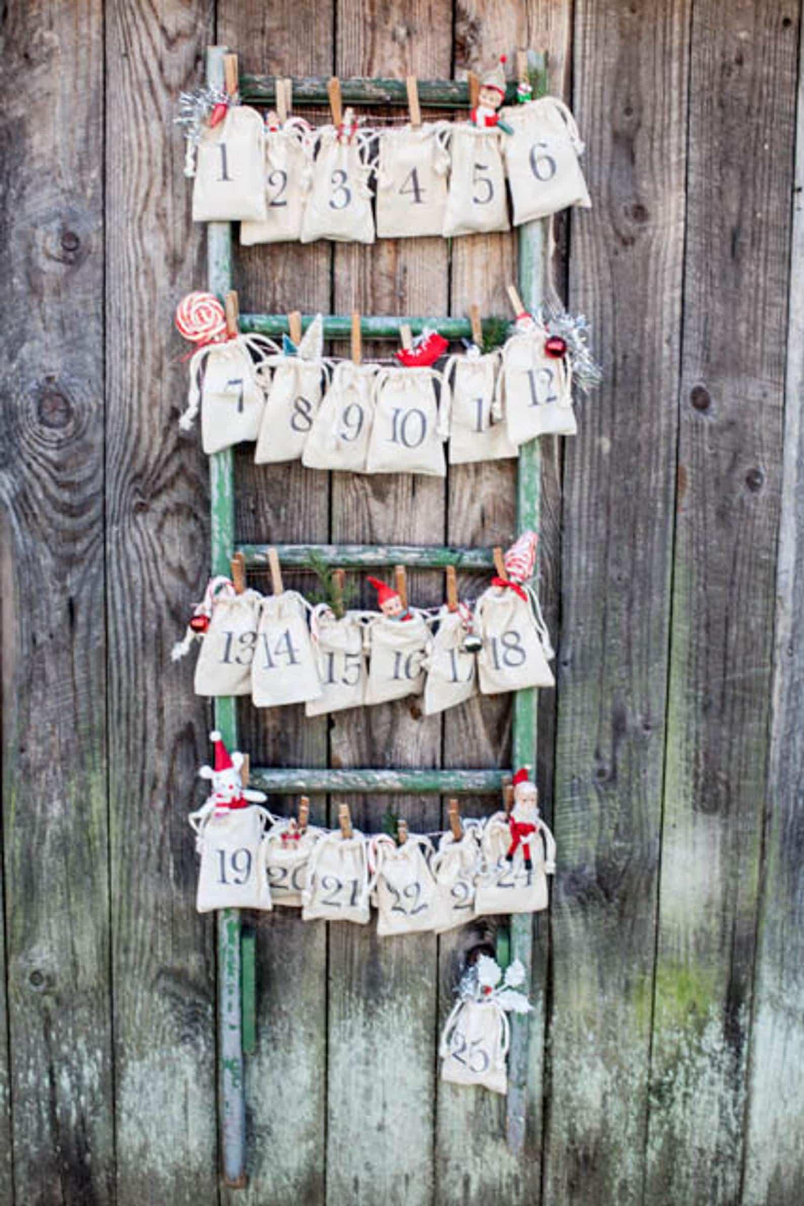 Christmas Advent Calendar bags
